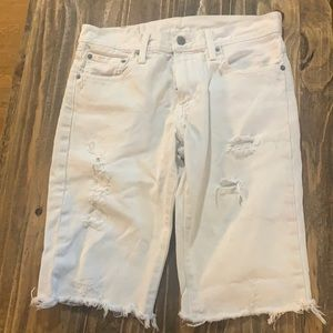This pair of Levi's has been altered.